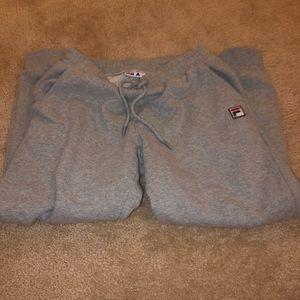 Fila grey sweatpants